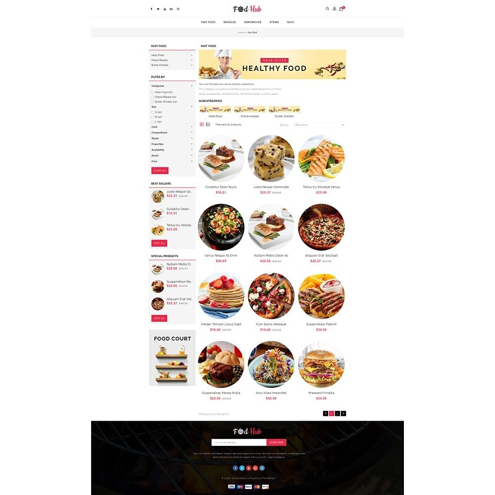 FoodHub Demo Store