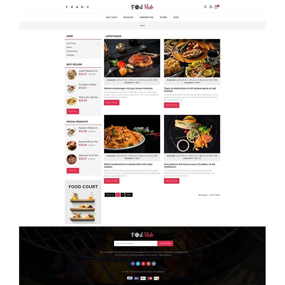 theme - Lebensmittel & Restaurants - FoodHub Demo Store - 6