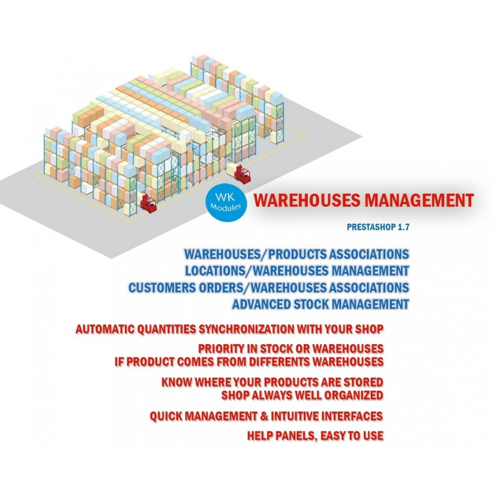 module - Stock & Leveranciersbeheer - Wk Warehouses Management - 1