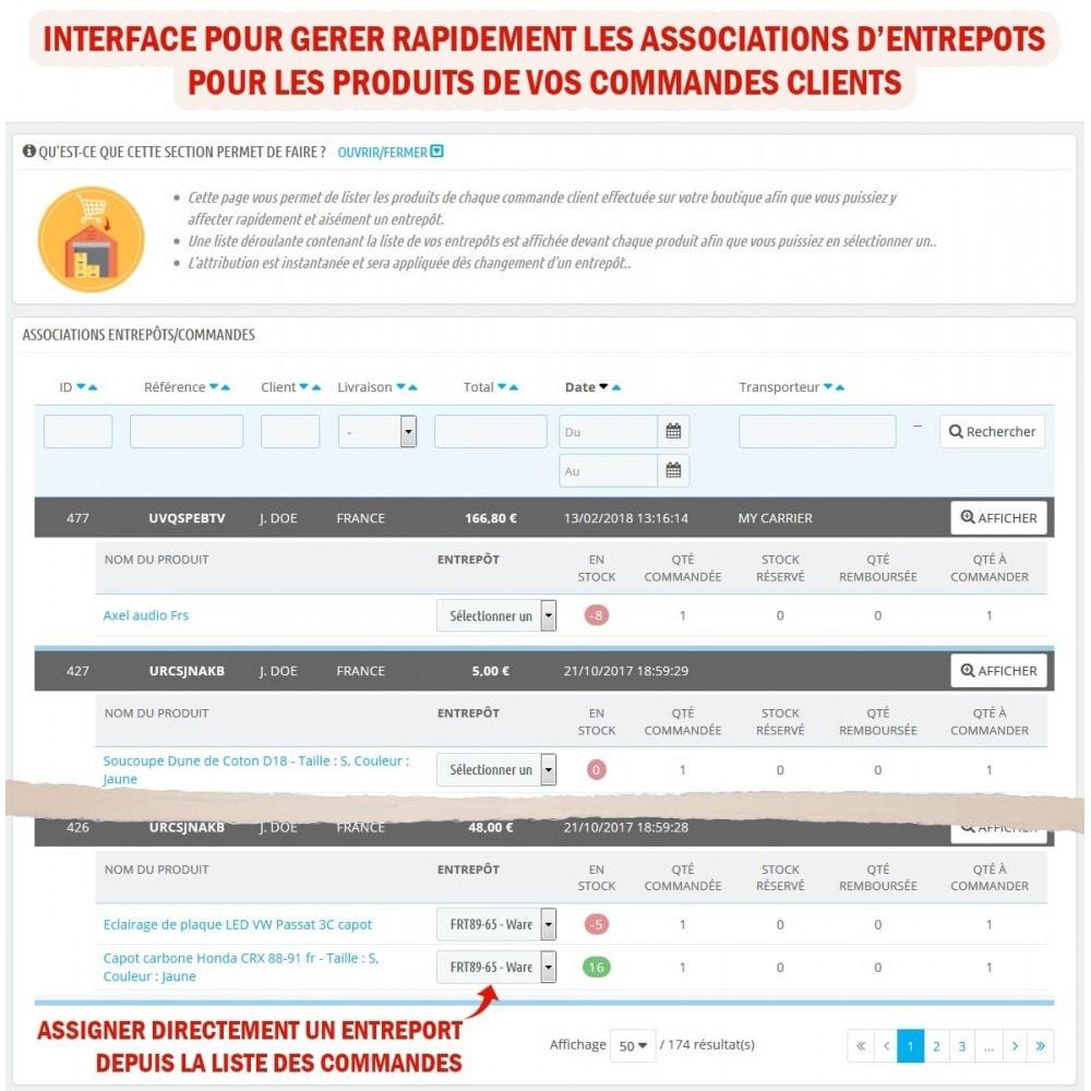 module - Gestion des Stocks & des Fournisseurs - Wk Gestion Entrepôts Pour Prestashop 1.7 - 6