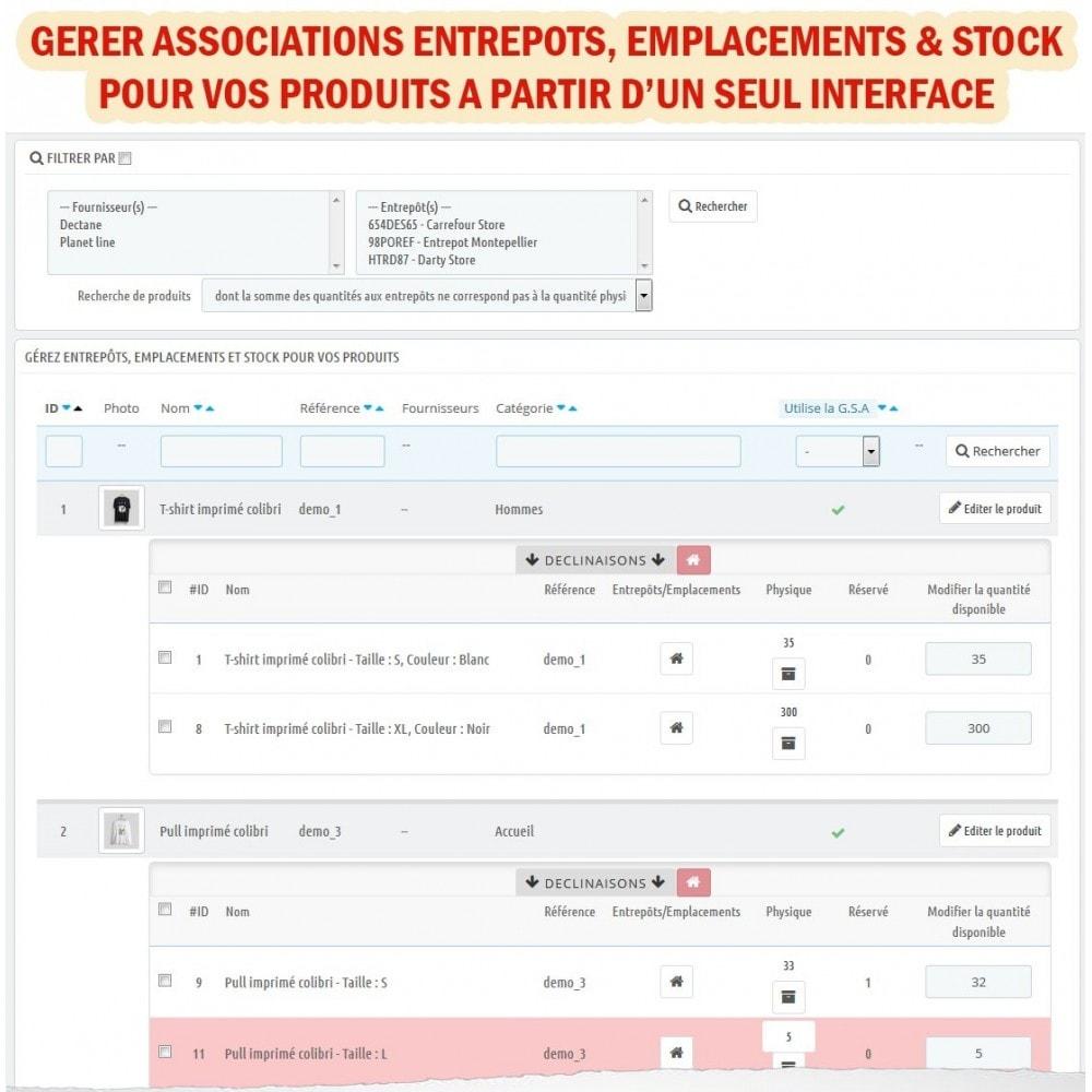 module - Gestion des Stocks & des Fournisseurs - Wk Gestion Entrepôts Pour Prestashop 1.7 - 7