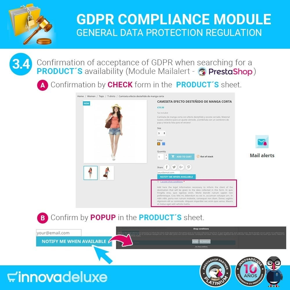 module - Jurídico - Data privacy extended (data protection law) - GDPR - 7