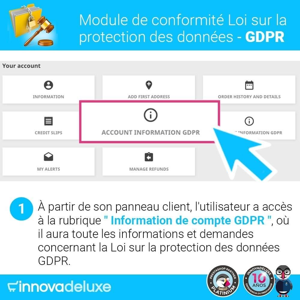 module - Législation - Conformité à la Loi sur la protection des données RGPD - 2