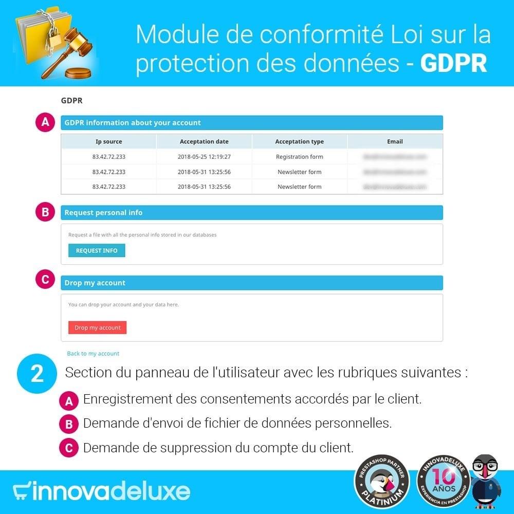 module - Législation - Conformité à la Loi sur la protection des données RGPD - 3