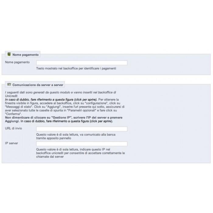 module - Creditcardbetaling of Walletbetaling - Unicredit PagOnline Carte - 7