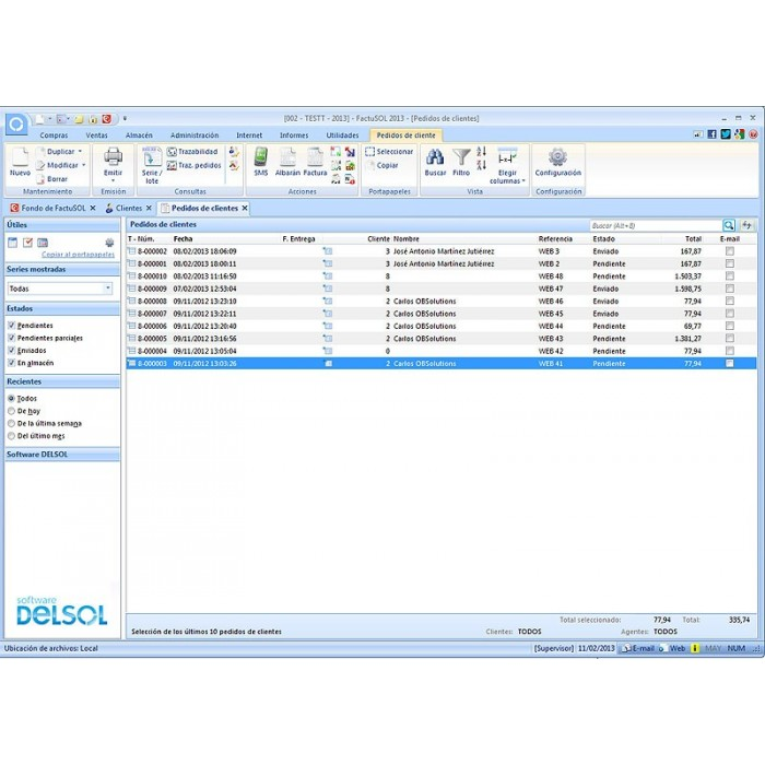 module - Third-party Data Integration (CRM, ERP...) - Basic FactuSOL Connector - 4