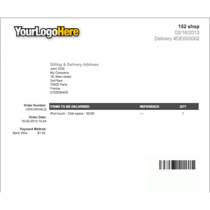 module - Preparation & Shipping - Invoice & Delivery Barcode Generator - 3