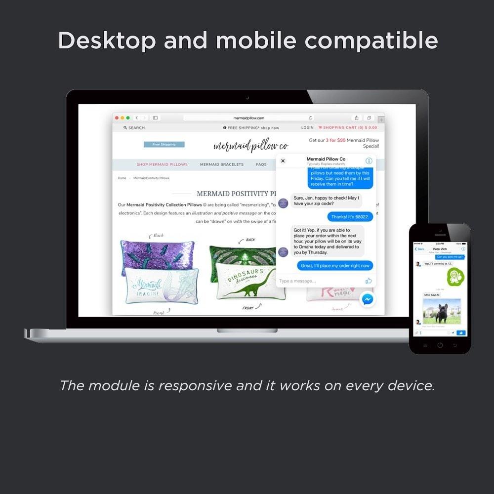 module - Support & Chat Online - Messenger Integration Pro (Chat avec les clients) - 2