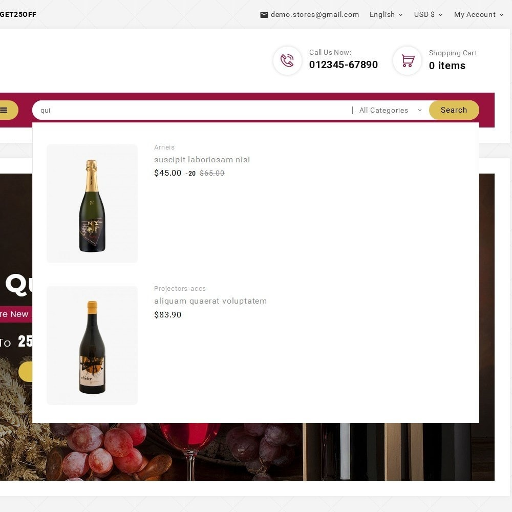 theme - Drink & Wine - Look me Wine Store - 10