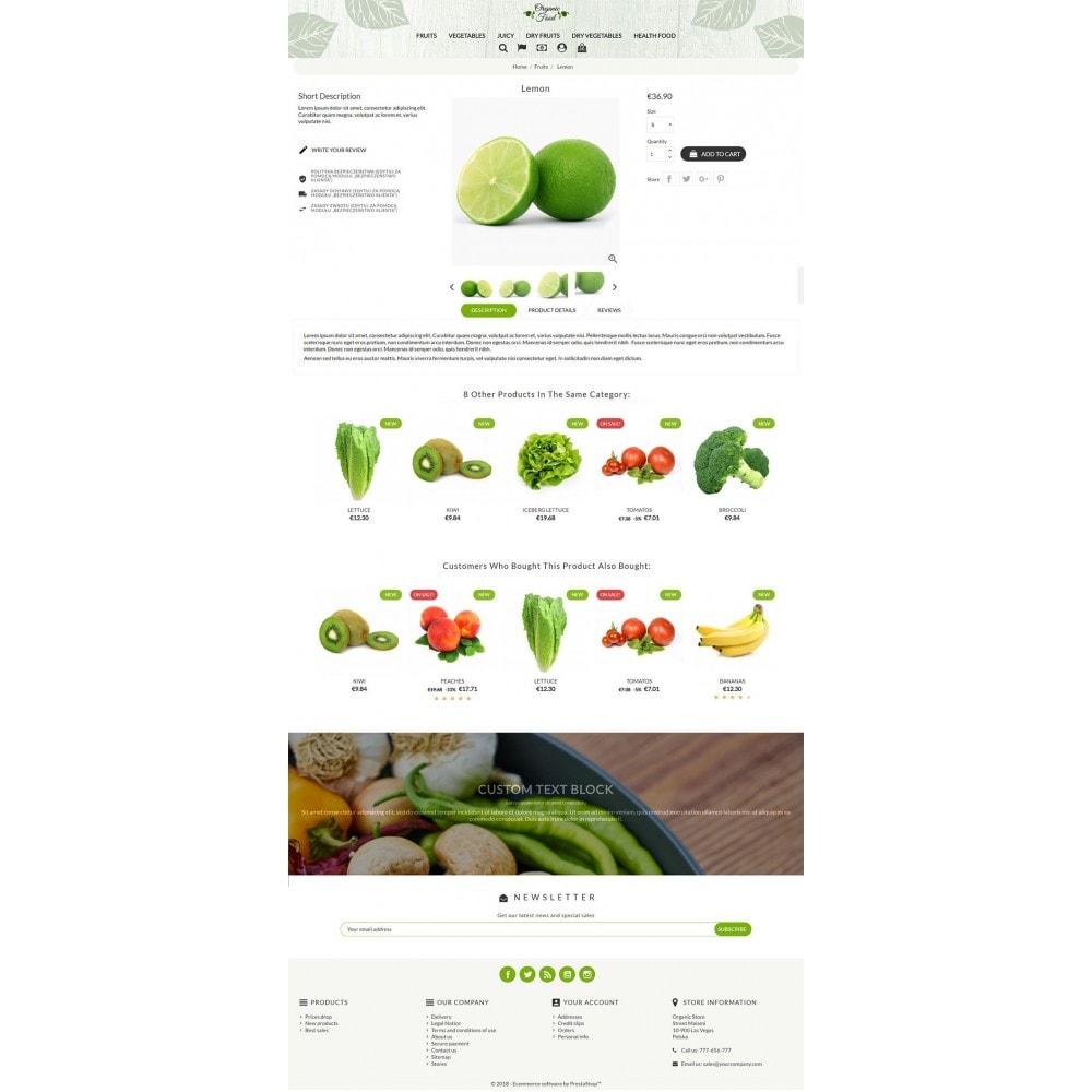 theme - Żywność & Restauracje - Organic Food - 3