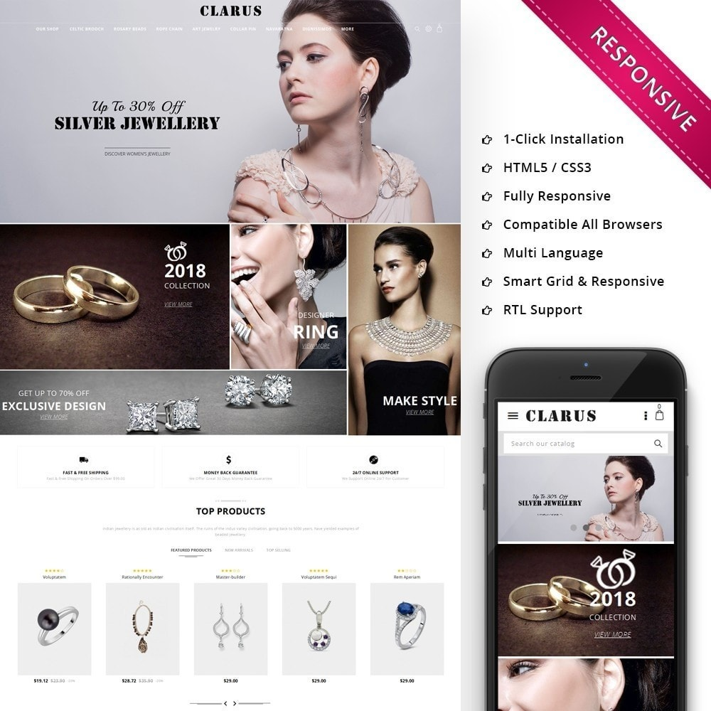 Clarus - The Jewelry Shop