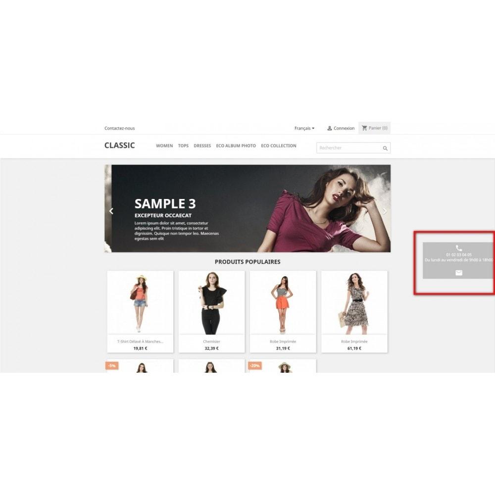 module - Formulaires de Contact & Sondages - EcoHelp - Informations de contact pour les clients - 4