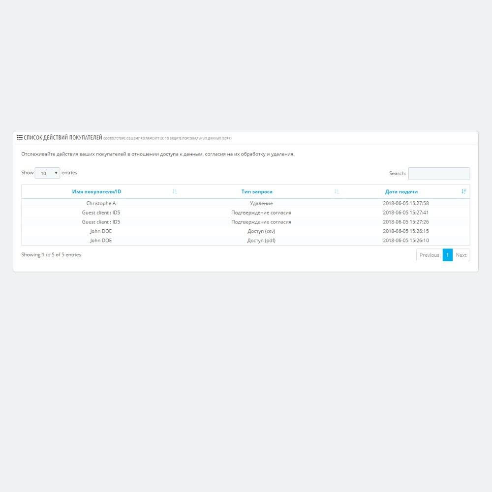 bundle - Текущие специальные предложения – Экономьте деньги! - GDPR Legal Pack Start - 6