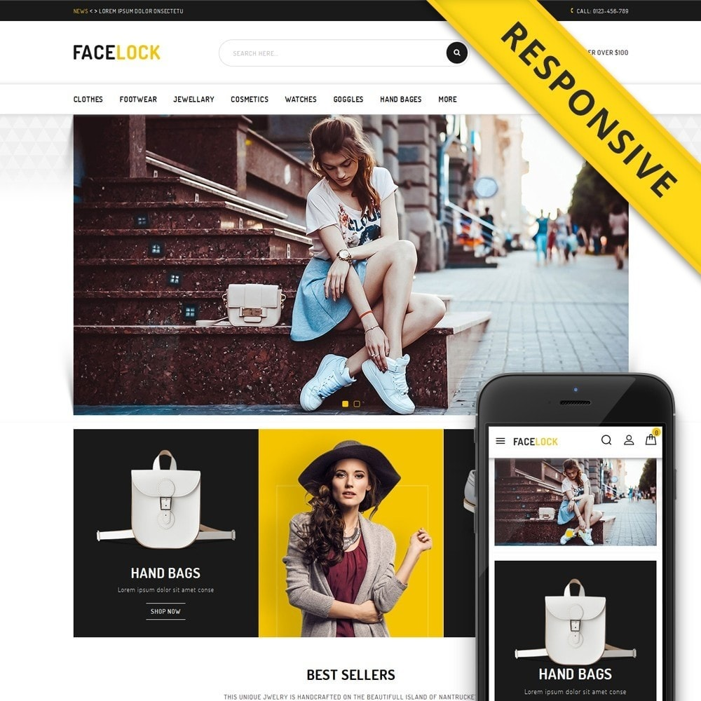 Face Lock Accessories Store