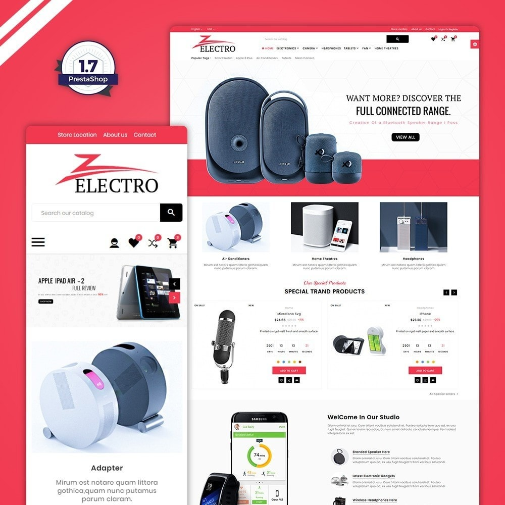 Electro Fire - Electronic Mega Shop