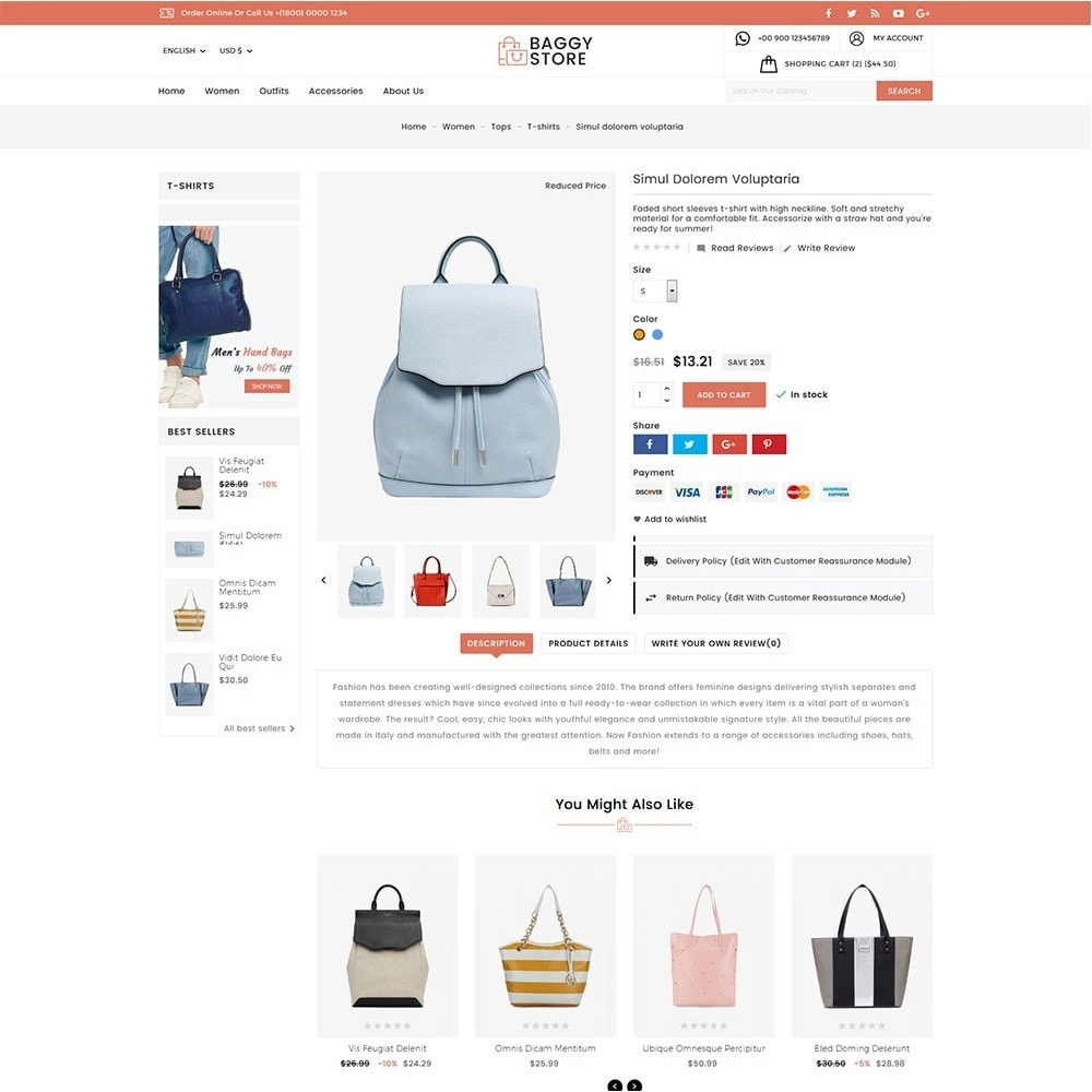 theme - Moda & Obuwie - Baggy Bag Store - 4