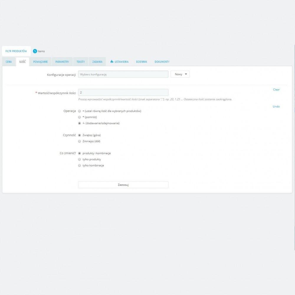 module - Szybkie & Masowe edytowanie - Zaawansowane Działania Masowe + Pełny Filtr Produktów - 5