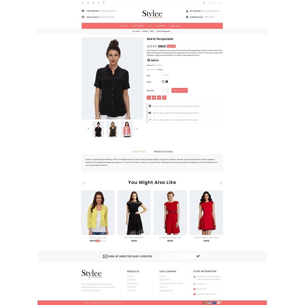 theme - Mode & Chaussures - Stylee Store - 5