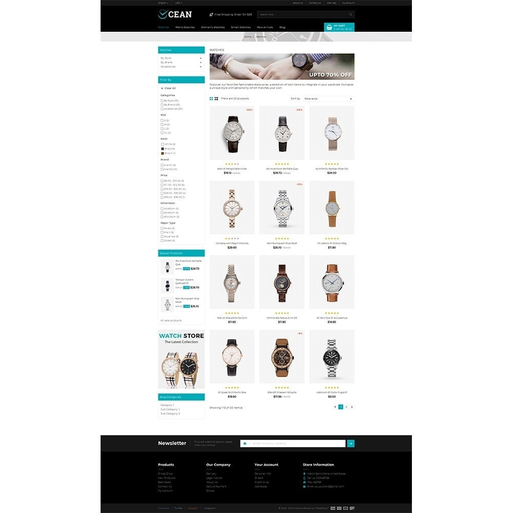 theme - Schmuck & Accesoires - Ocean Store - 3