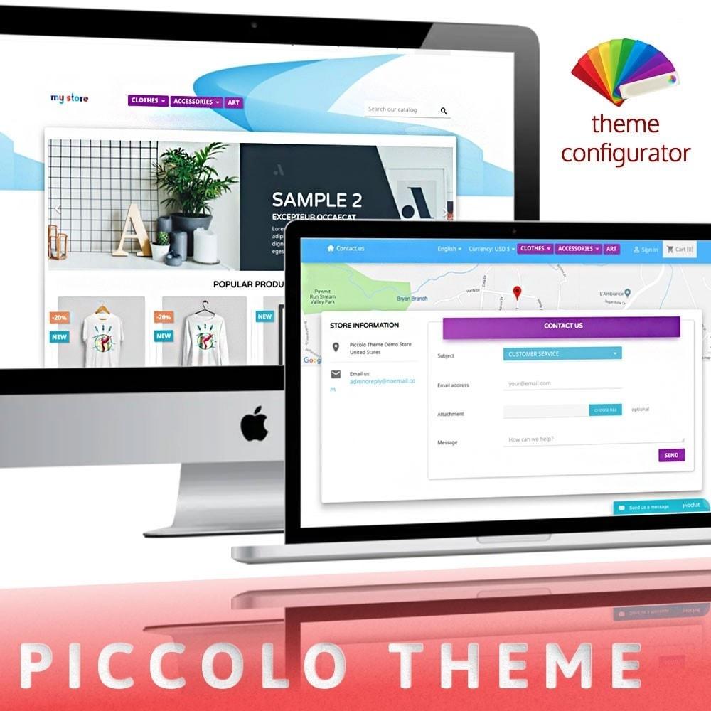 theme - Salud y Belleza - Piccolo Theme - 1
