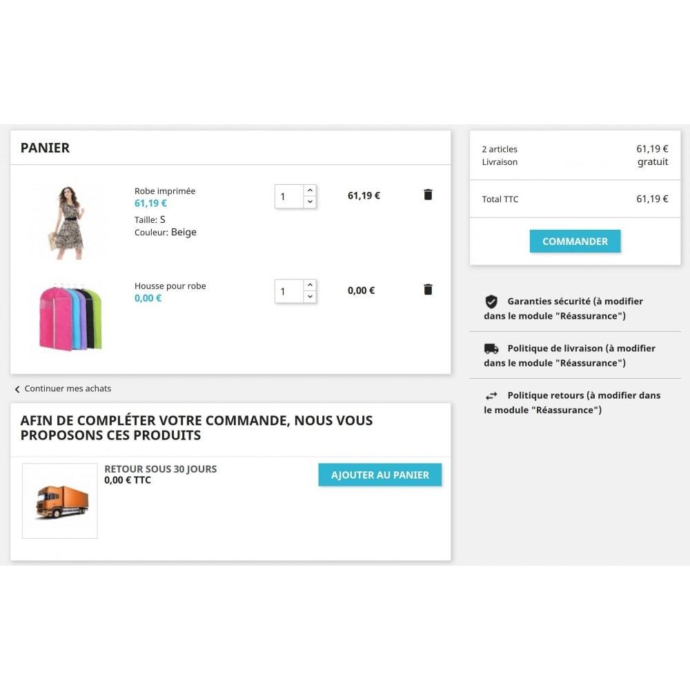 module - Ventes croisées & Packs de produits - Ajout automatique de produits dans le panier - 5