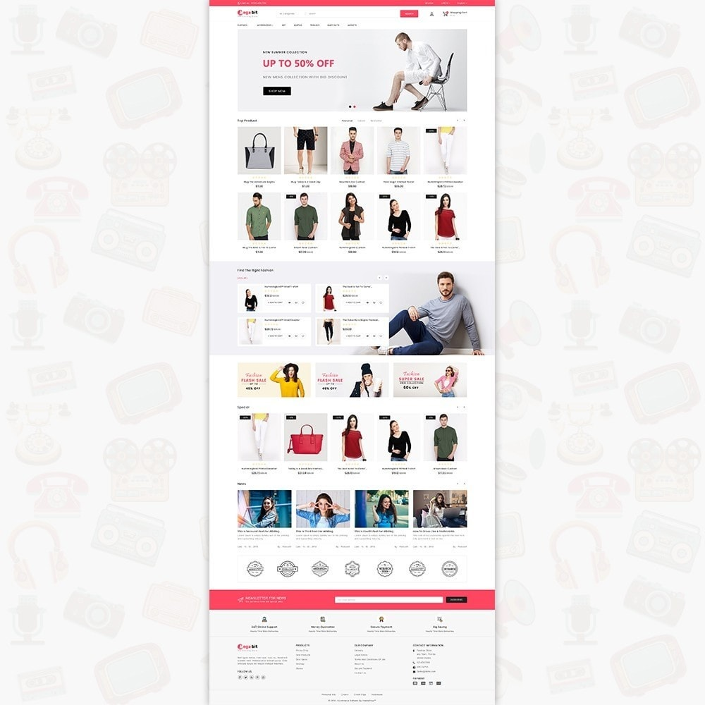 MegaBit - The E-commerce Shop