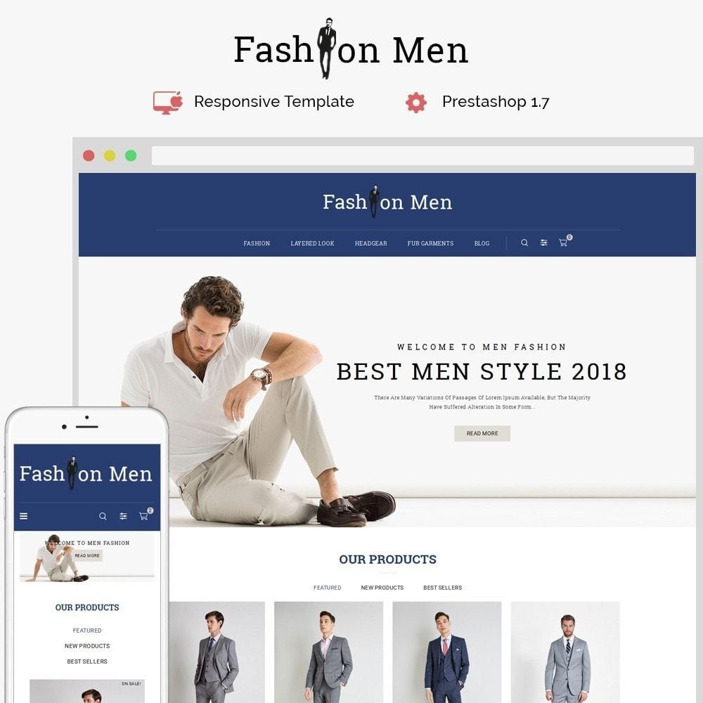 theme - Fashion & Shoes - Fashionmen Demo Store - 1