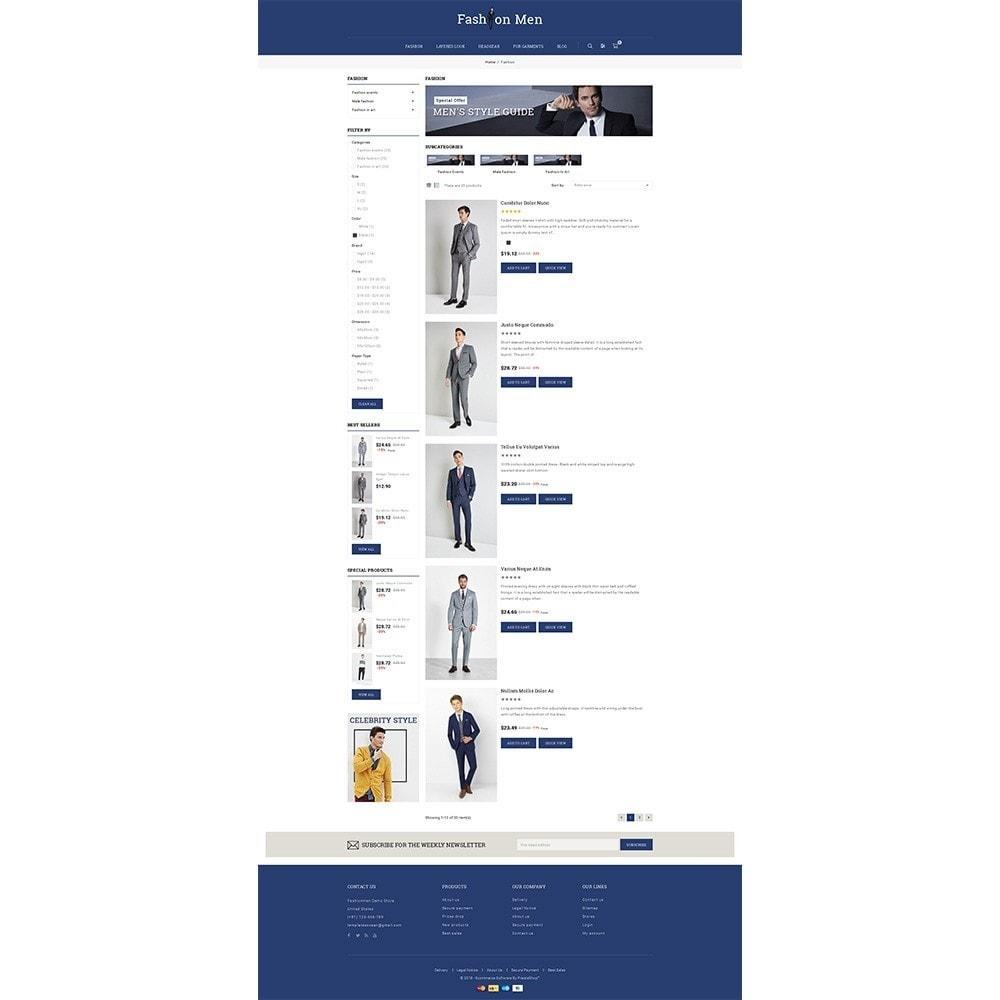theme - Mode & Schoenen - Fashionmen Demo Store - 4