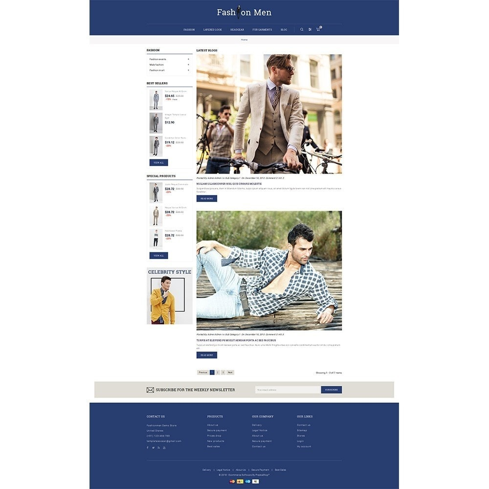 theme - Mode & Schoenen - Fashionmen Demo Store - 6