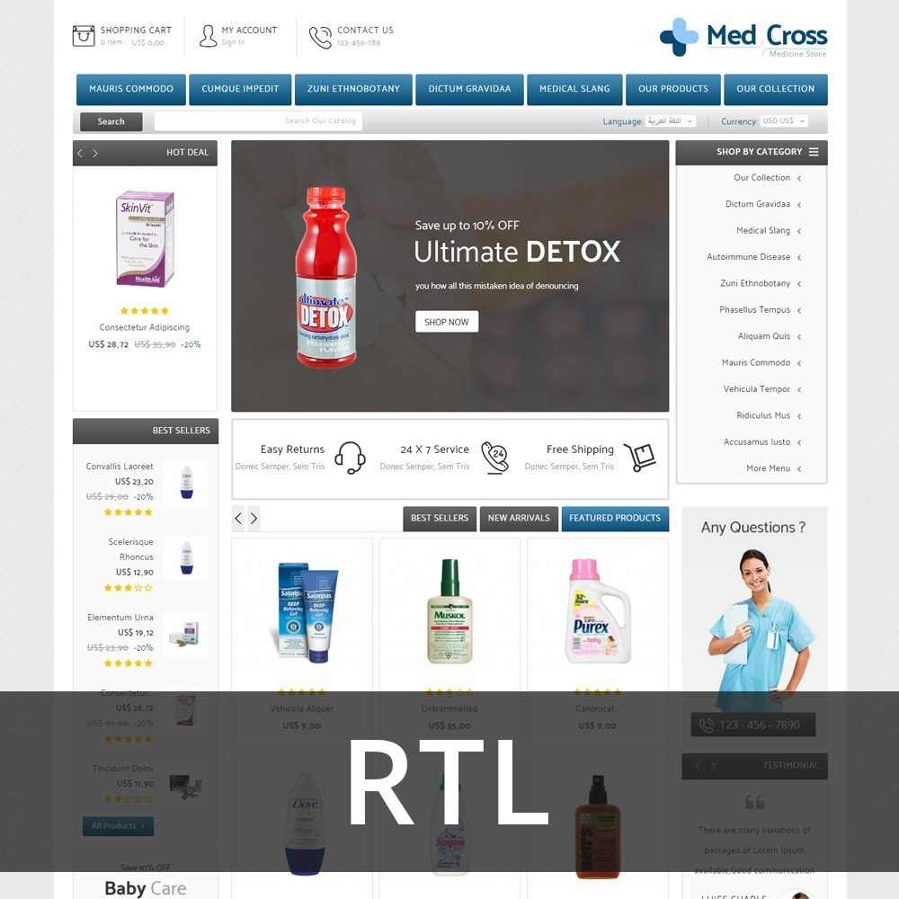 theme - Saúde & Beleza - Medcross - The Medical Shop - 4