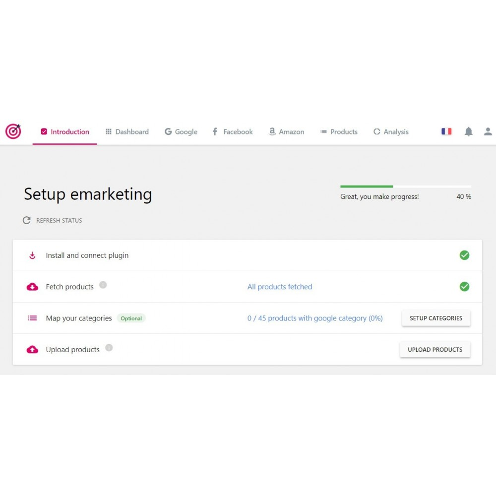 module - SEA SEM pago & Filiação - PrestaShop Ads - 1
