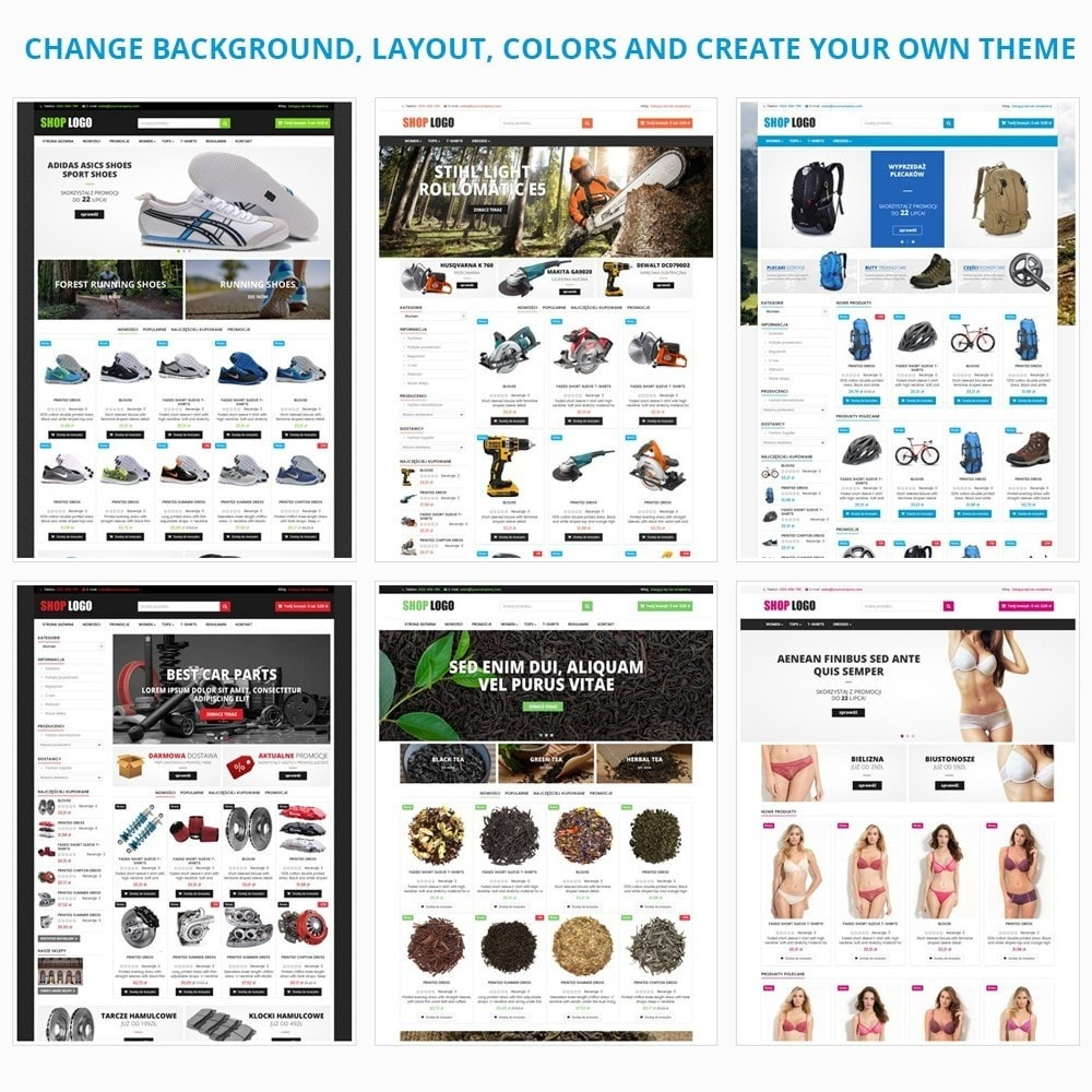 theme - Auto's & Motoren - AT19 Black - Motorcycles cloths and parts store - 13