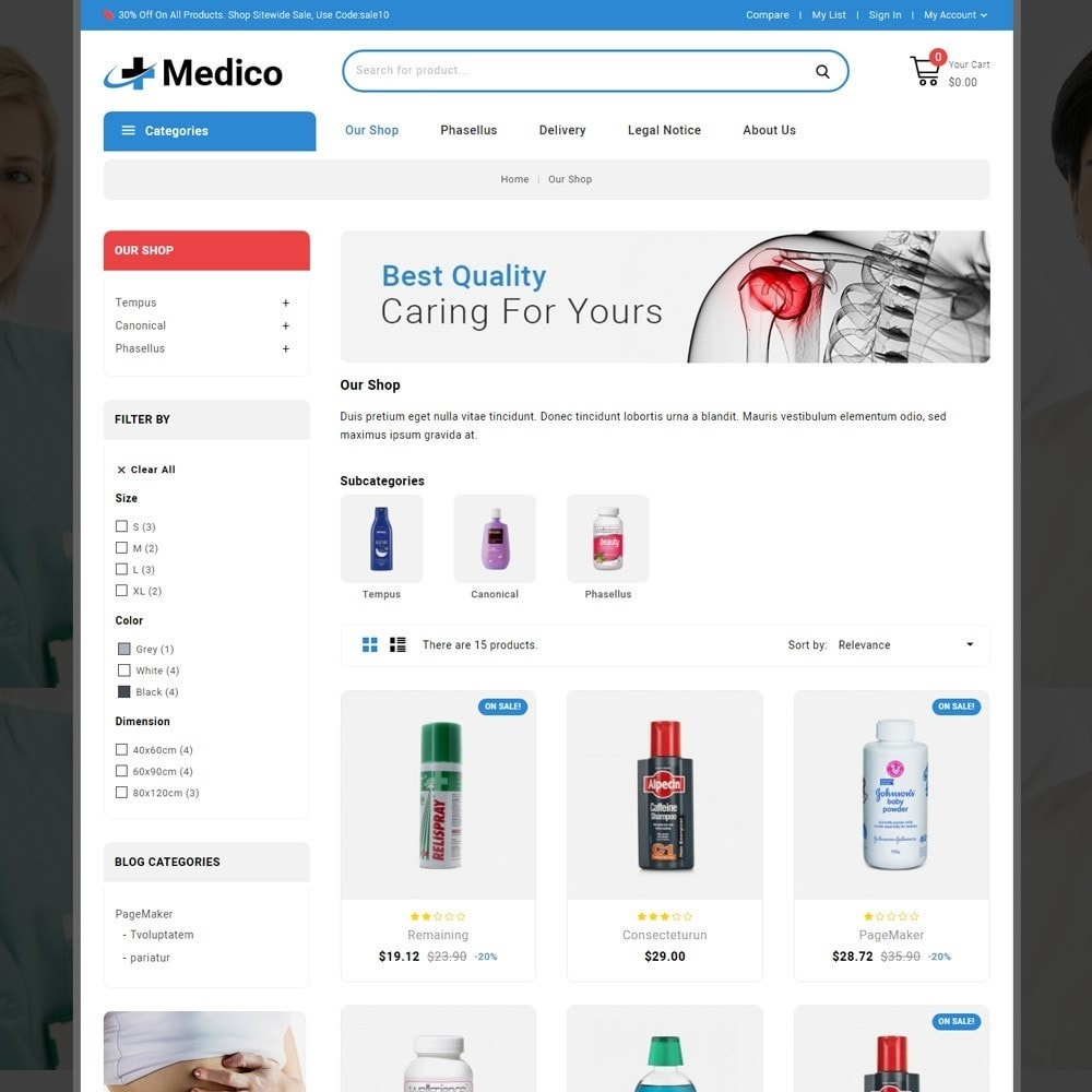 theme - Salud y Belleza - Medico - The Medical Store - 4
