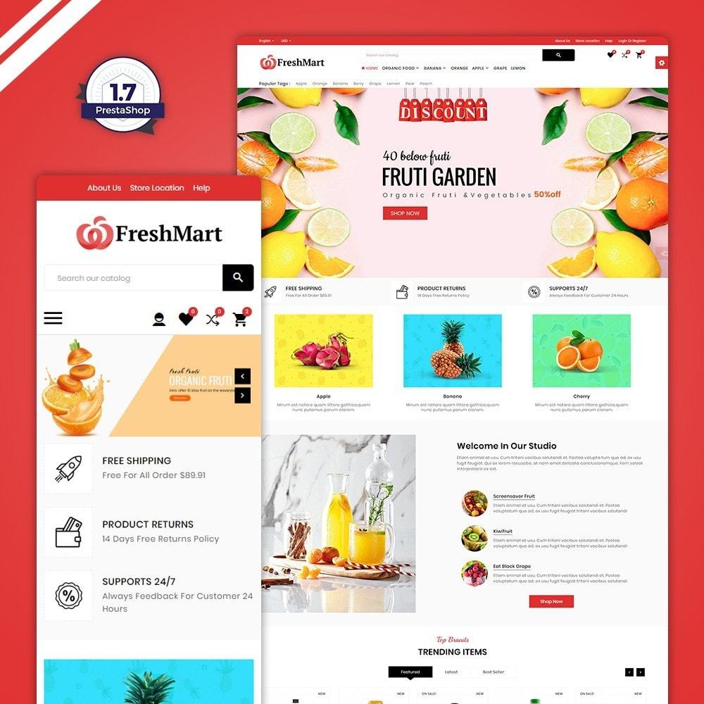 theme - Alimentos & Restaurantes - FreshMart – Organic Mega Store - 1