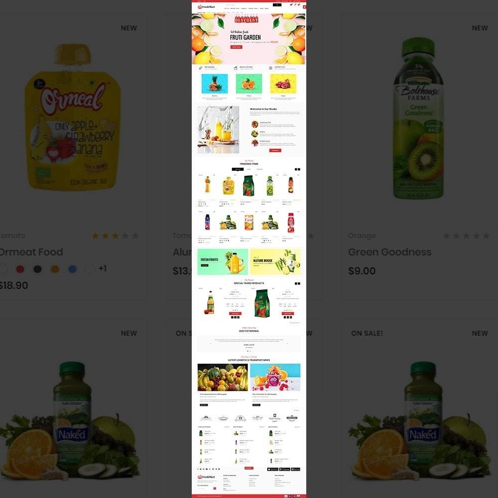 FreshMart - Organic Mega Store