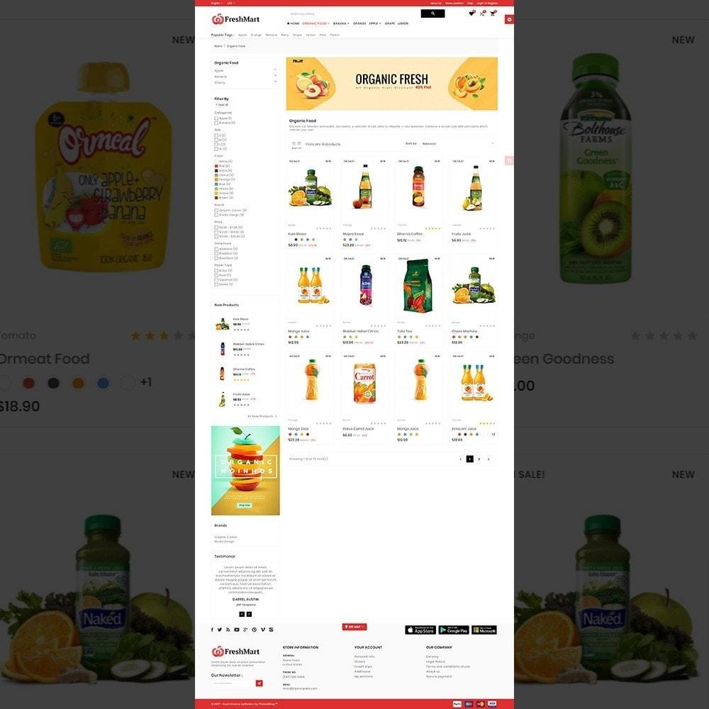 theme - Alimentos & Restaurantes - FreshMart – Organic Mega Store - 3