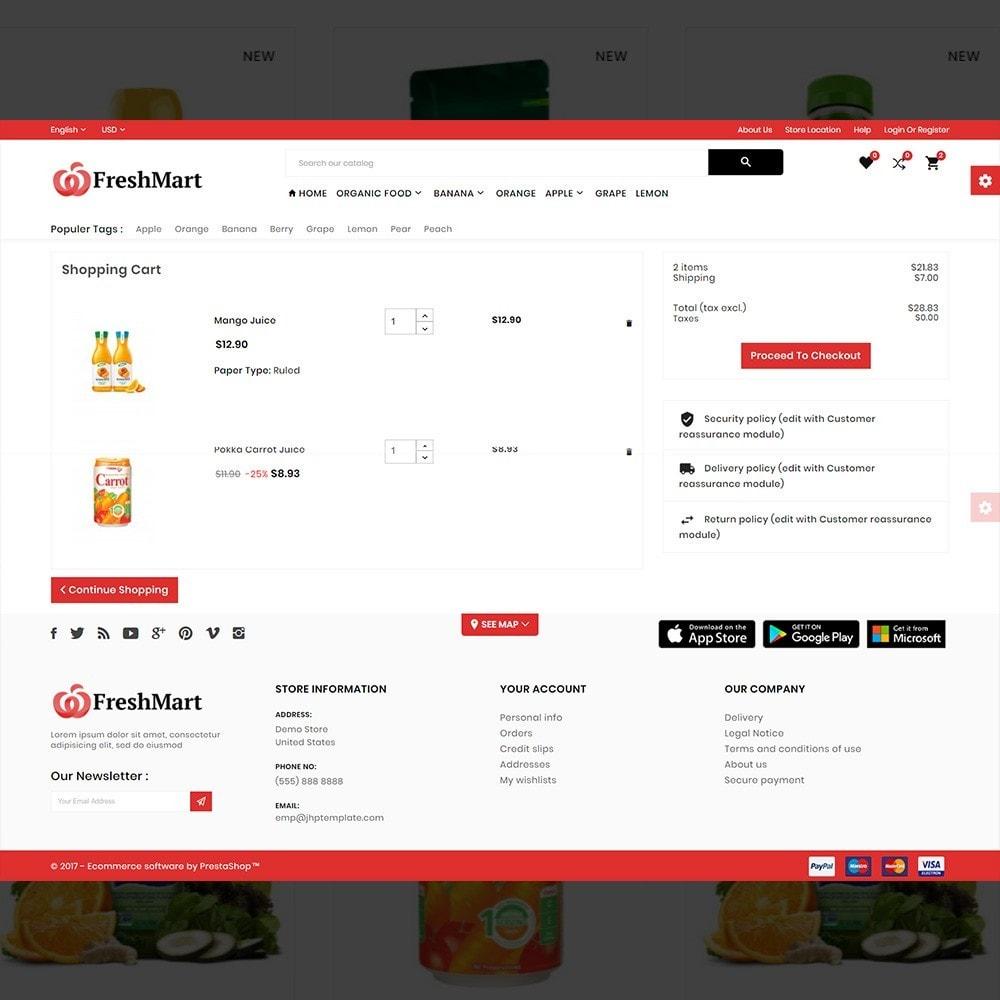 theme - Alimentos & Restaurantes - FreshMart – Organic Mega Store - 5