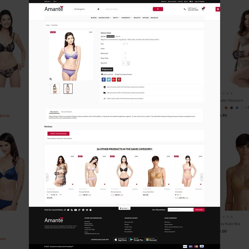 theme - Lingerie & Adult - Lingerie Mega Shop - 4