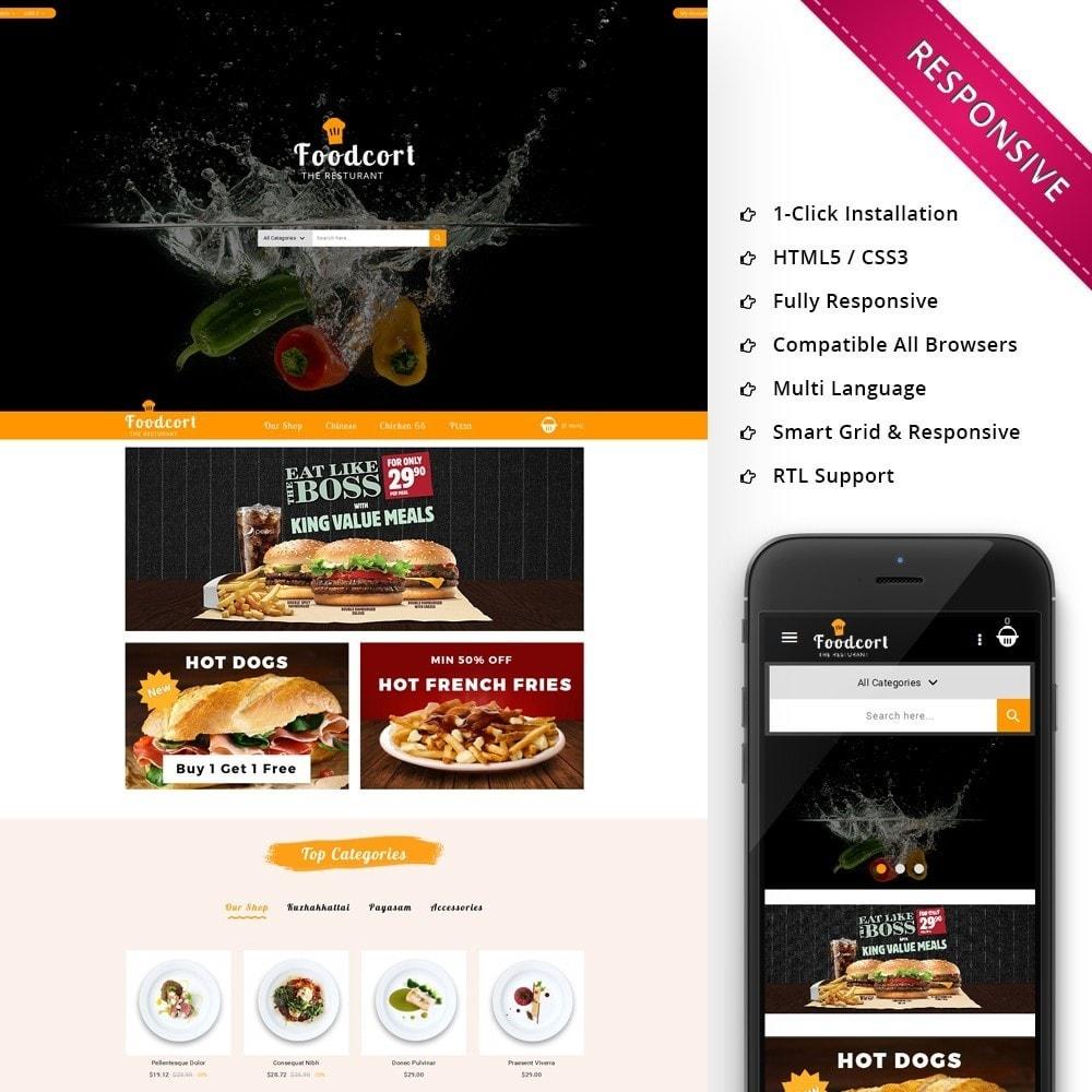 theme - Gastronomía y Restauración - Foodcort Restaurant - 1