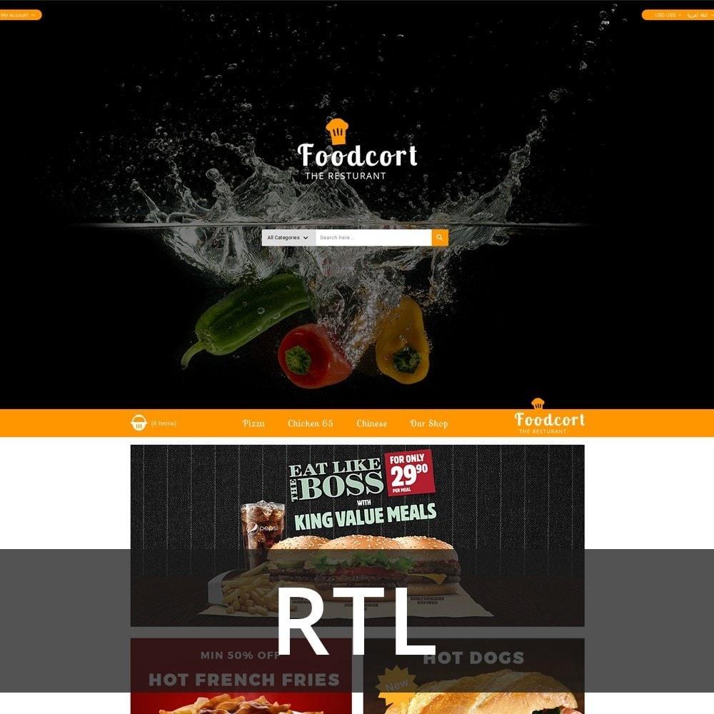 theme - Gastronomía y Restauración - Foodcort Restaurant - 3