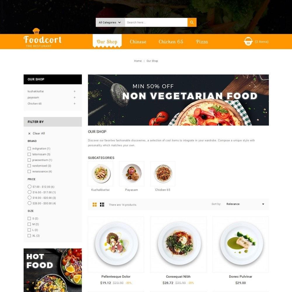 theme - Gastronomía y Restauración - Foodcort Restaurant - 4