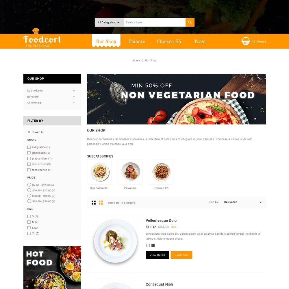 theme - Food & Restaurant - Foodcort Restaurant - 5