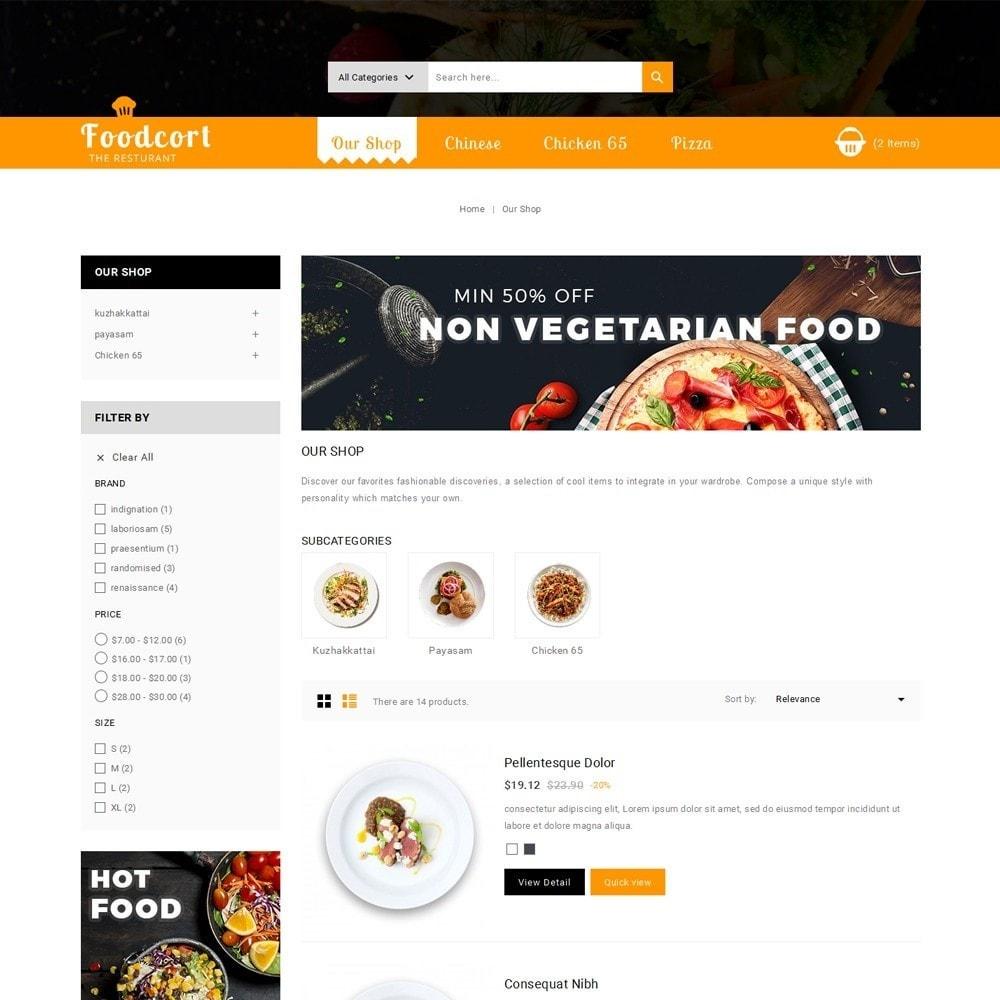 theme - Gastronomía y Restauración - Foodcort Restaurant - 5