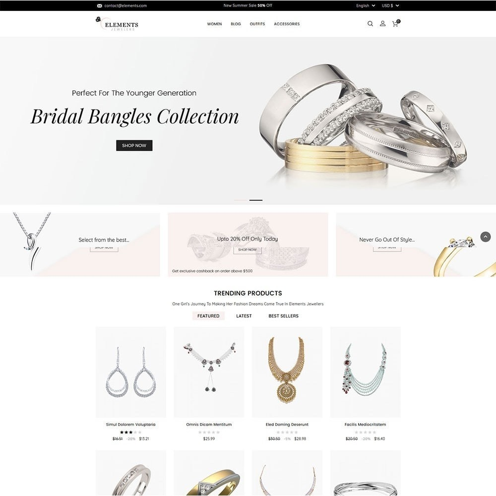 theme - Schmuck & Accesoires - Elements Jewellery Store - 2