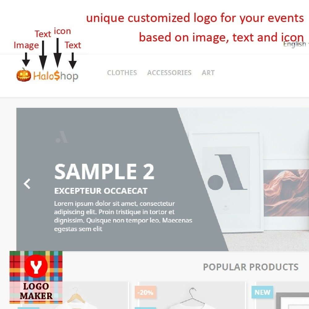 module - Badges & Logos - Yucca Logo Maker Pro - 1