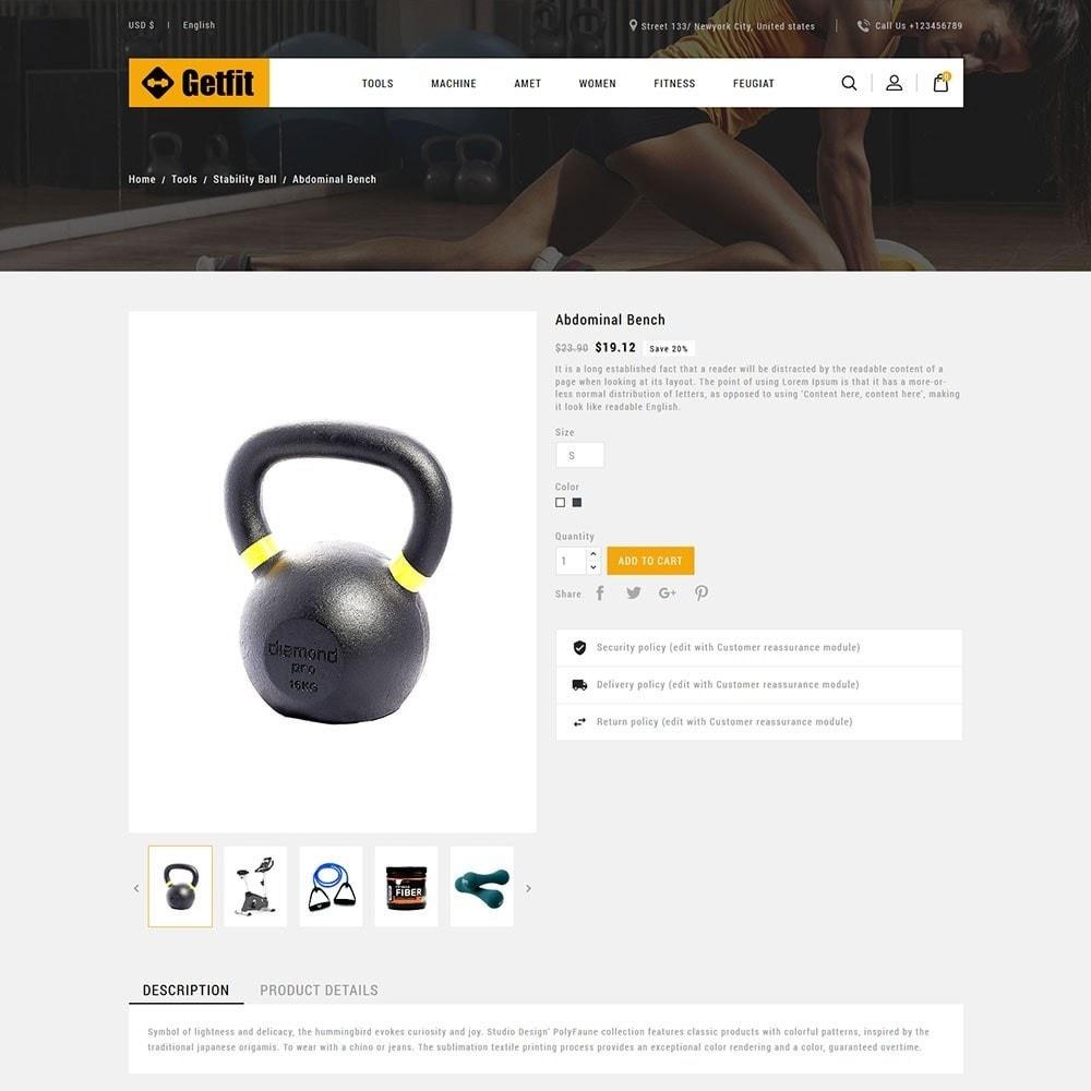 theme - Moda & Obuwie - Get Fit Gym Store - 5