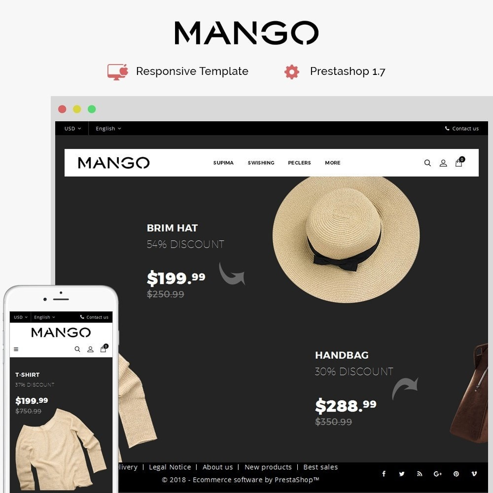 Mango Fashion Demo