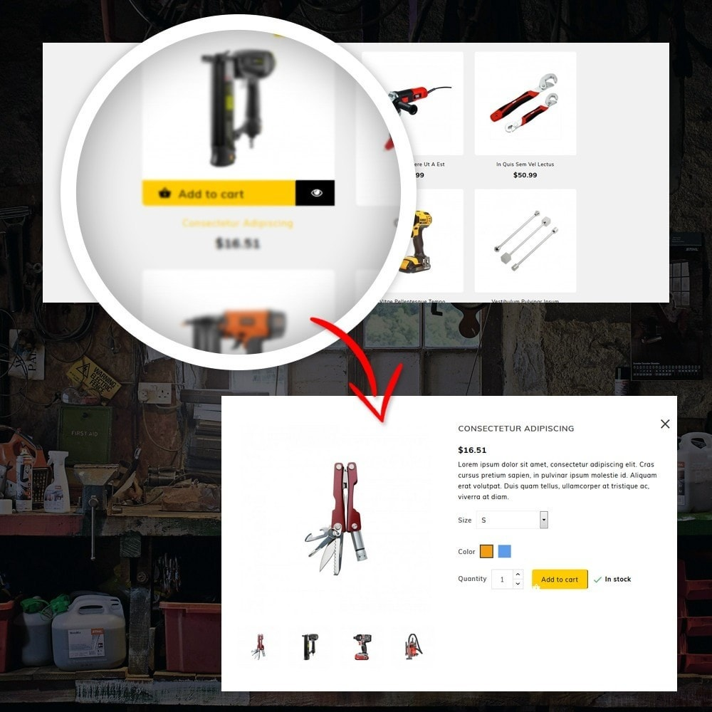 theme - Dom & Ogród - Lenox - Tools Shop - 8
