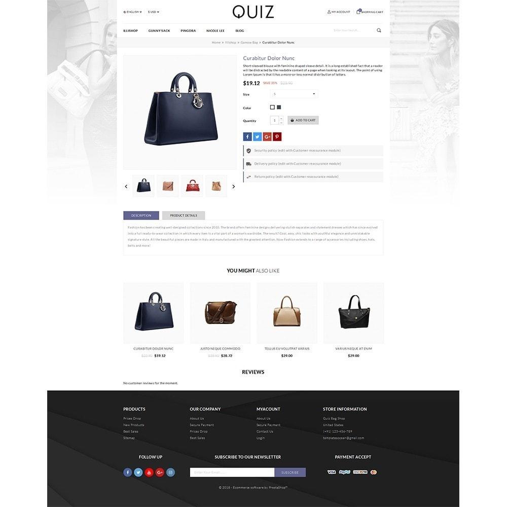 Quiz Bag Store