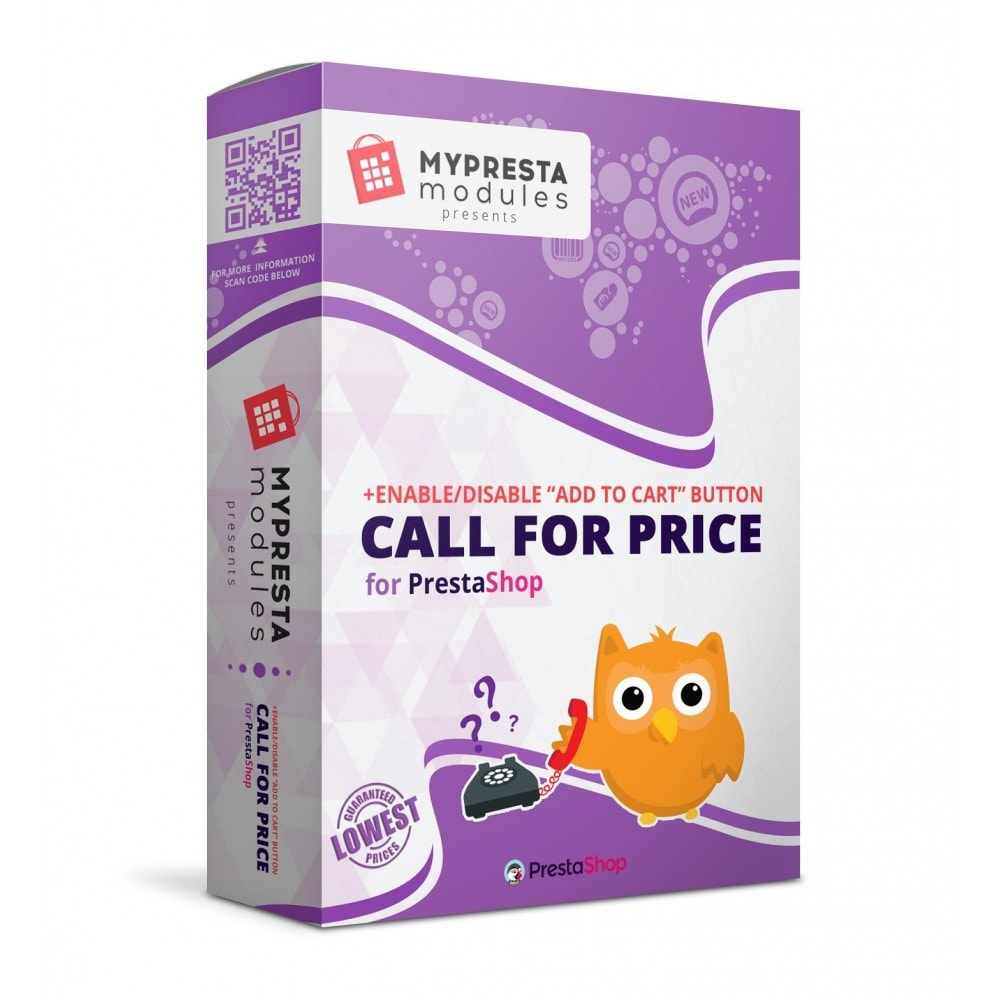 module - Ondersteuning & Online chat - Call For Price + Call Back Product Button - 1